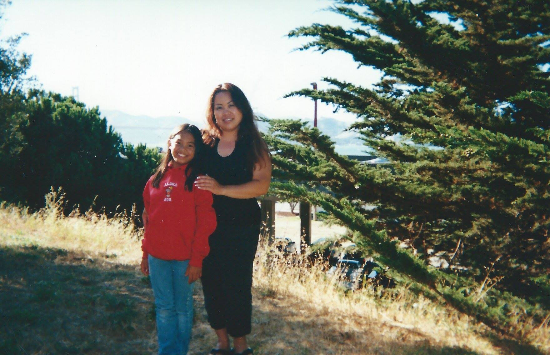 Every summer, my mom would take me the Presidio for the Aloha Festival. She enrolled me in my first hula class when I was 5-6 years old, and I danced for several years. We have been to Hawaii several times, and she still goes just about every year.