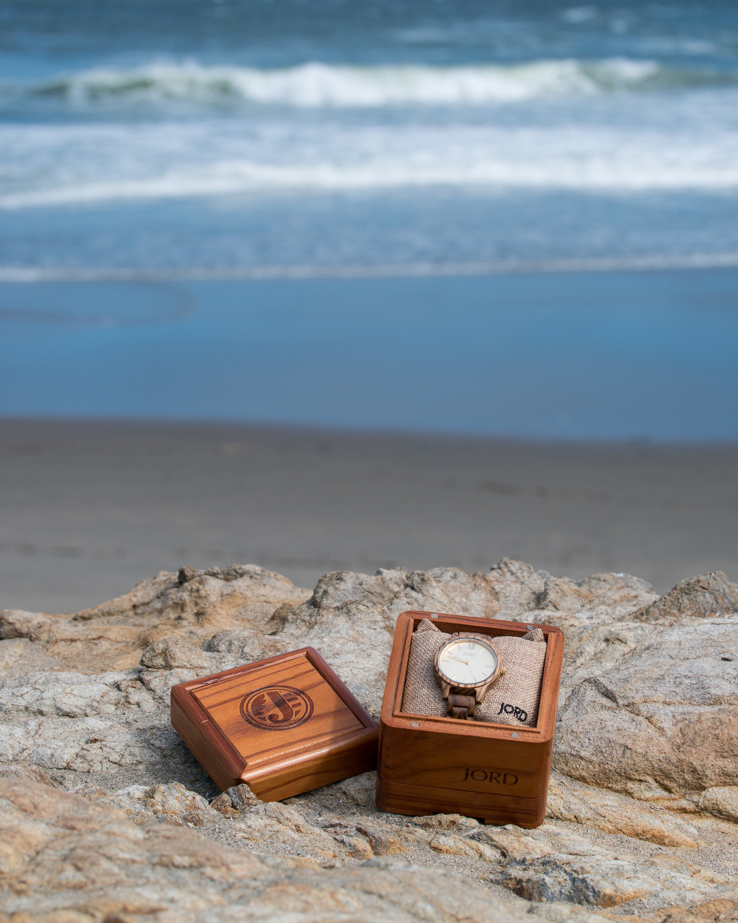 JORD watches zebrawood series san francisco