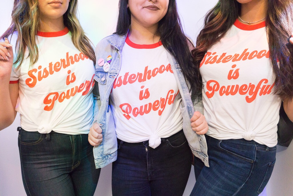 SIsterhood is Powerful Shirts from  Shop Luella