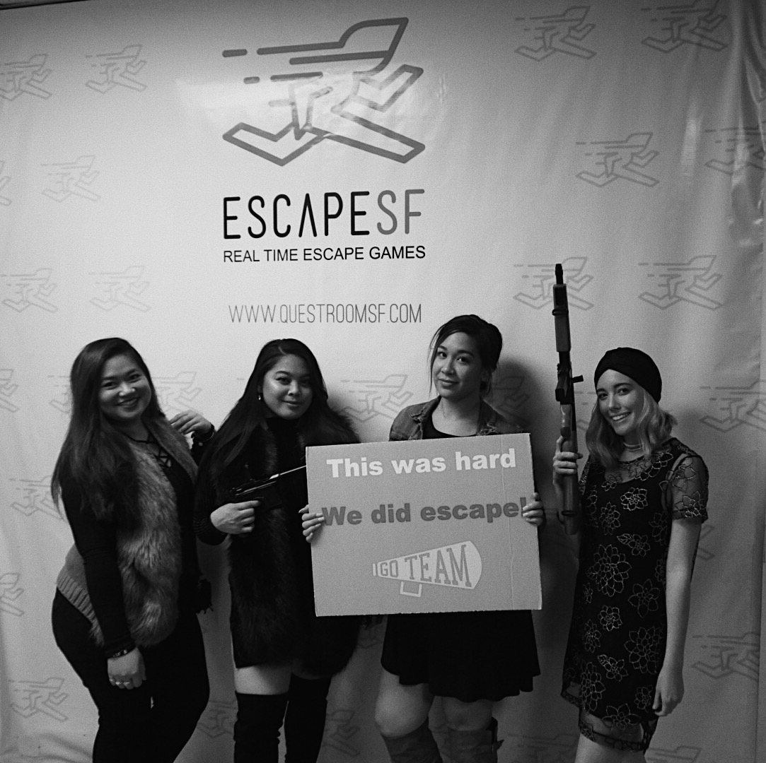 we escaped at escape sf