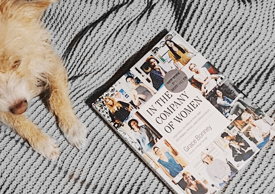 cable knit blankets, puppies and an empowering read