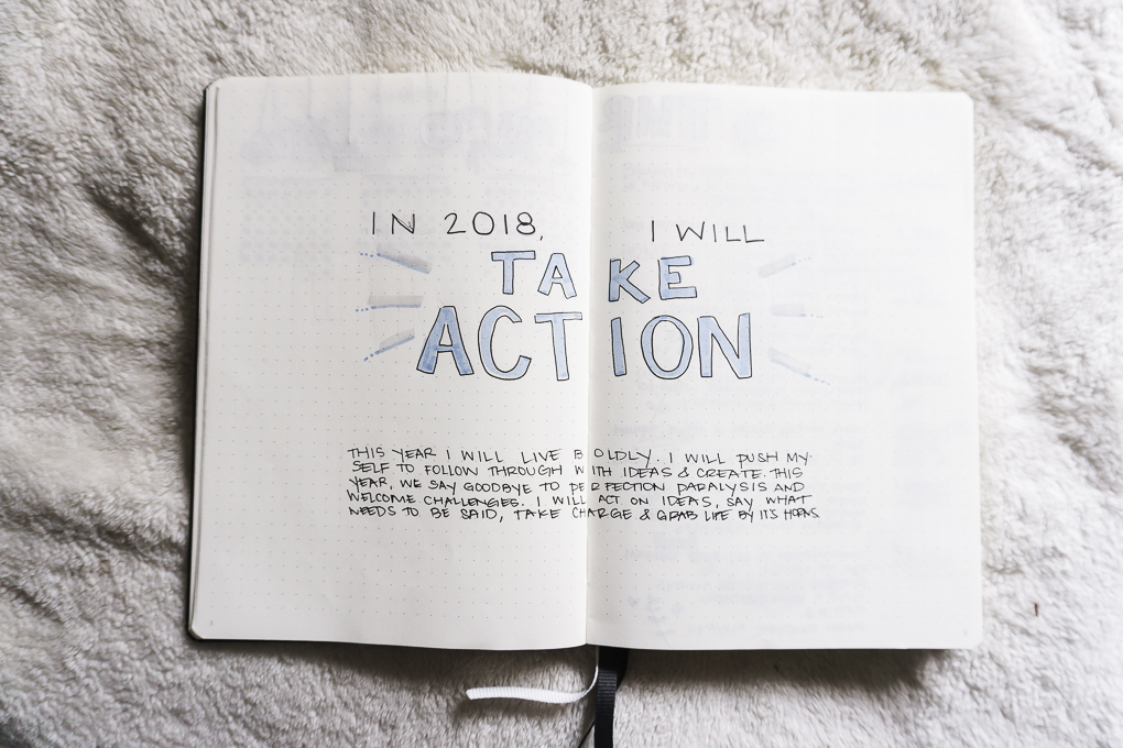 bullet journal bujo ideas goal setting