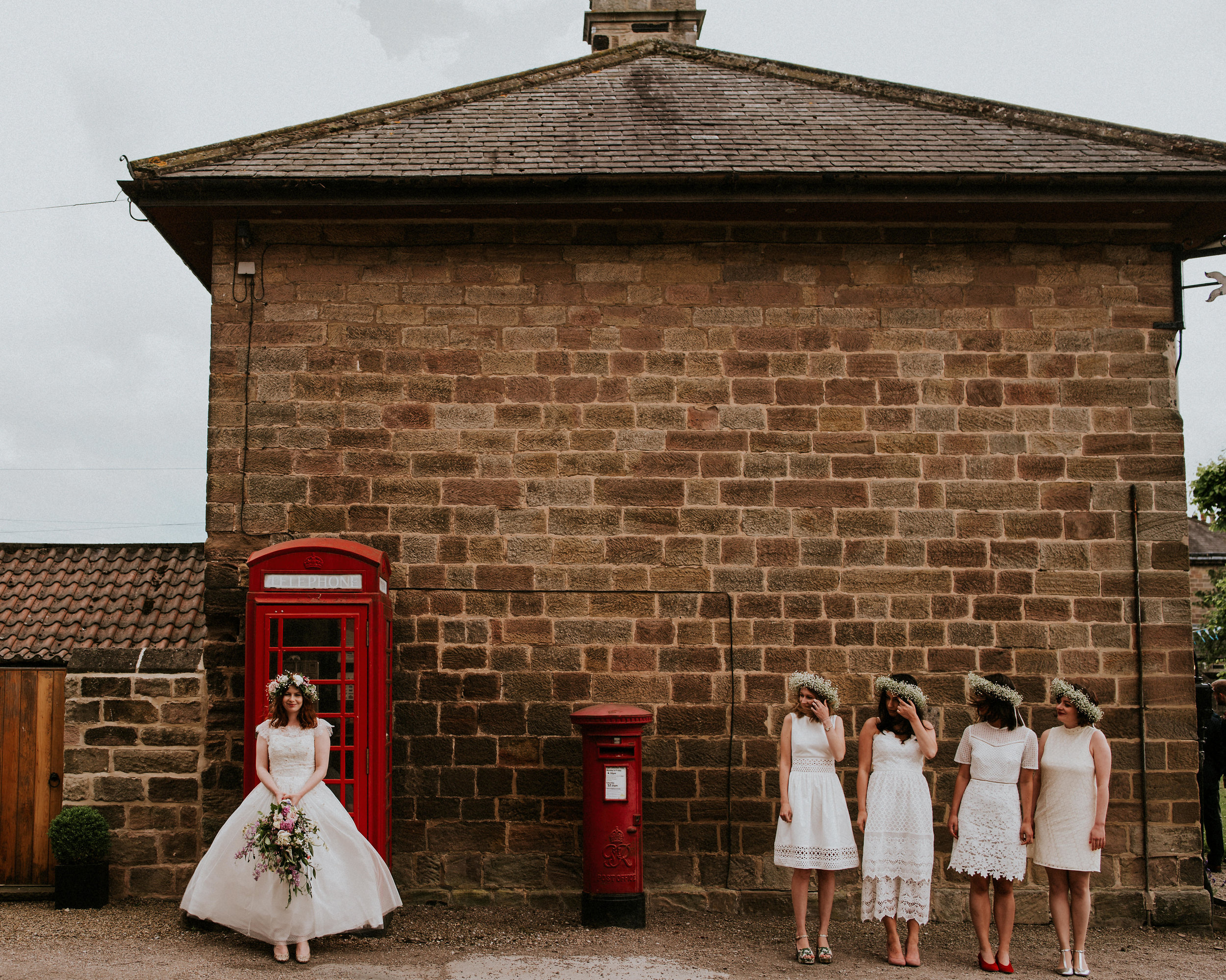 From the age old grandeur of Fountains Abbey to the quintessential village feels of Ripley Town Hall. From boho vibes to colourful styling. This wedding has it all.