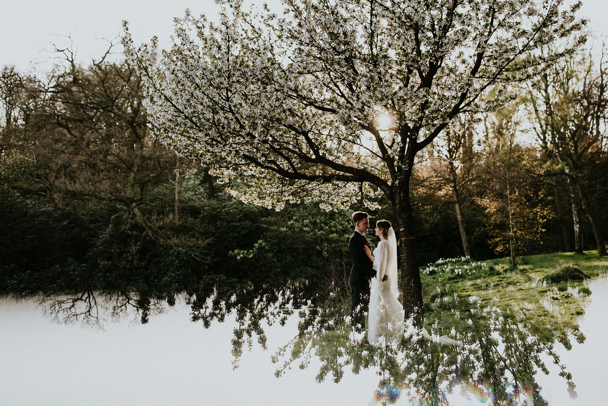 Spring has arrived in this Roundhay Park Mansion wedding filled with atmospheric romance & wild adventure.