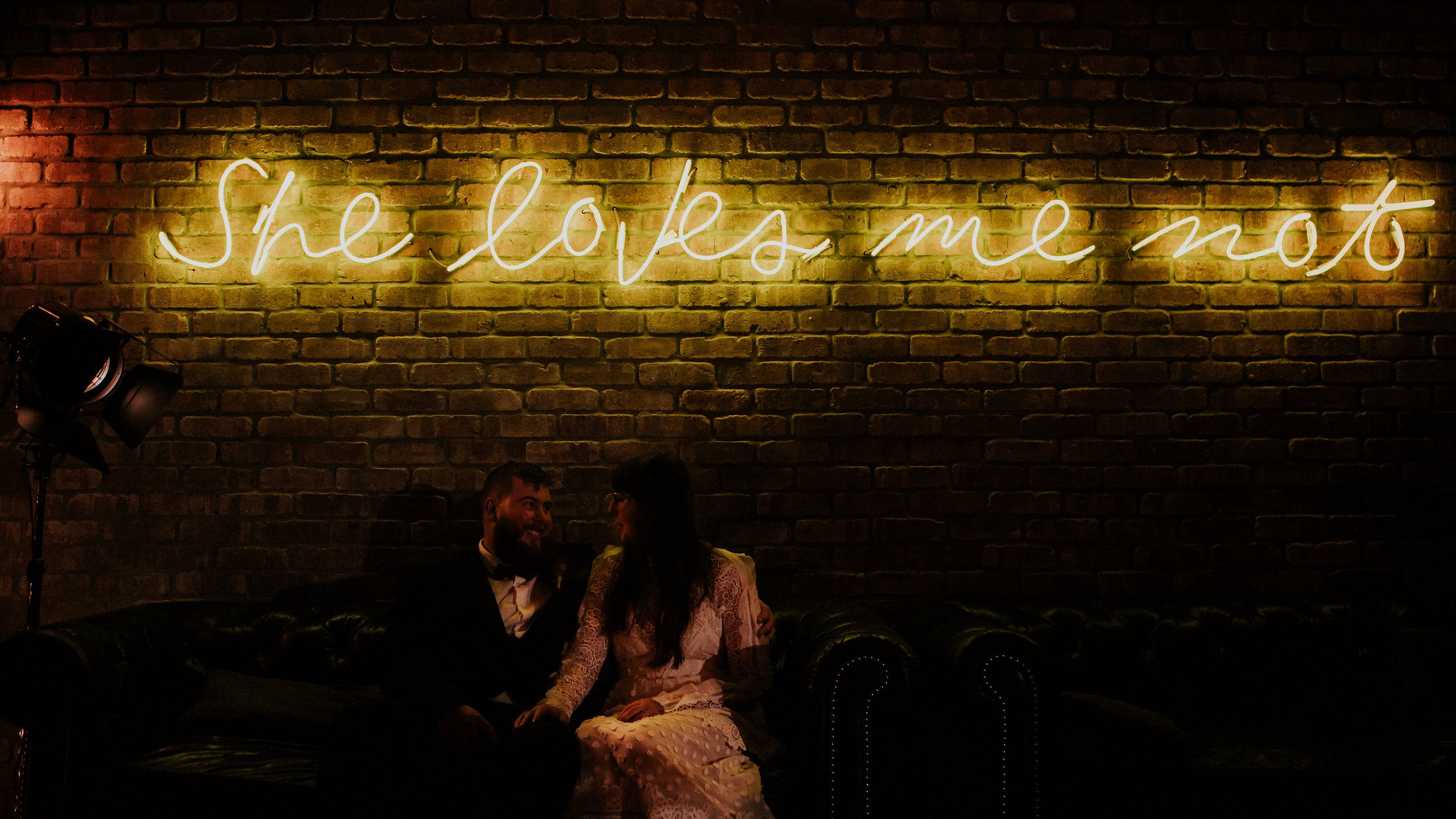 A first look in the Graffiti laden streets of Manchesters Northern Quarter to a fairy lit teepee in the city centre. Ciaran & Steph's Manchester wedding is filled with Christmas awesomeness.