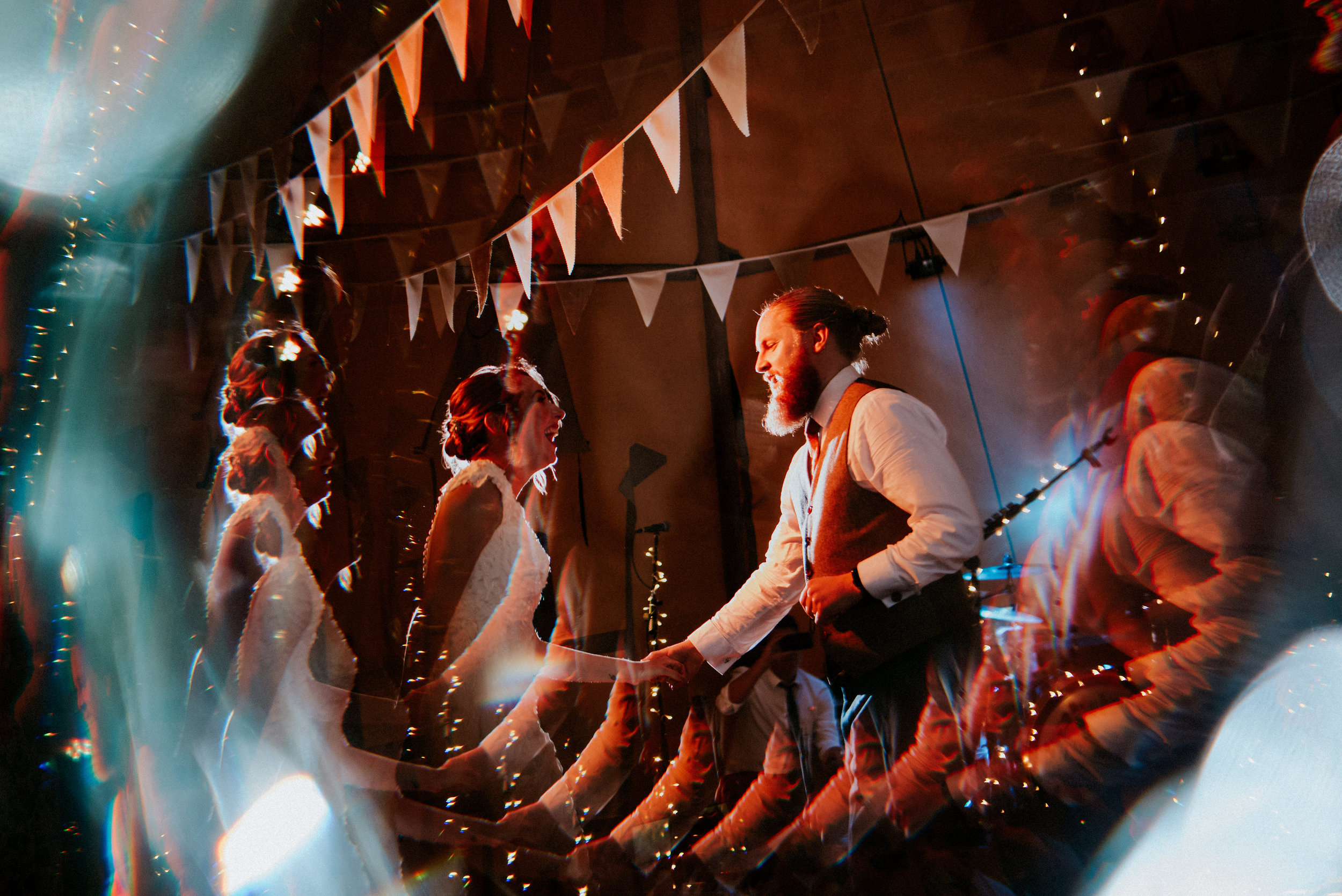 Wild Baildon moor portraits, A fairy lit teepee filled with bespoke details, A rock n roll bride & groom take the stage together to perform. It's a day to remember in this Baildon Rugby Club Wedding