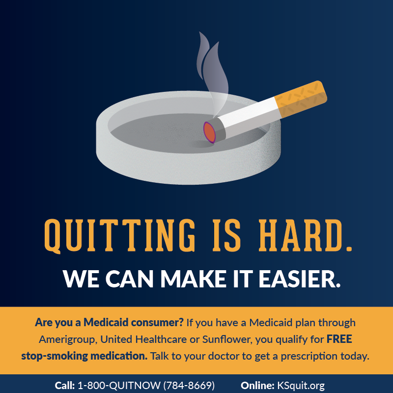 Do you want even more free resources? - Did you know that most insurance benefits include cessation medications? Are you interested in other community programs where you can get free help quitting?Click the