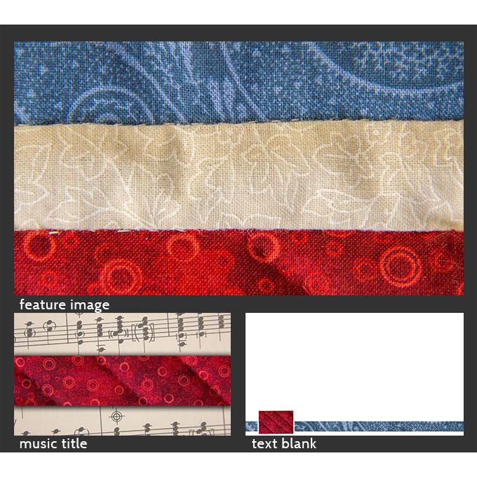 worship graphic GraphicSet sample rwb quilt