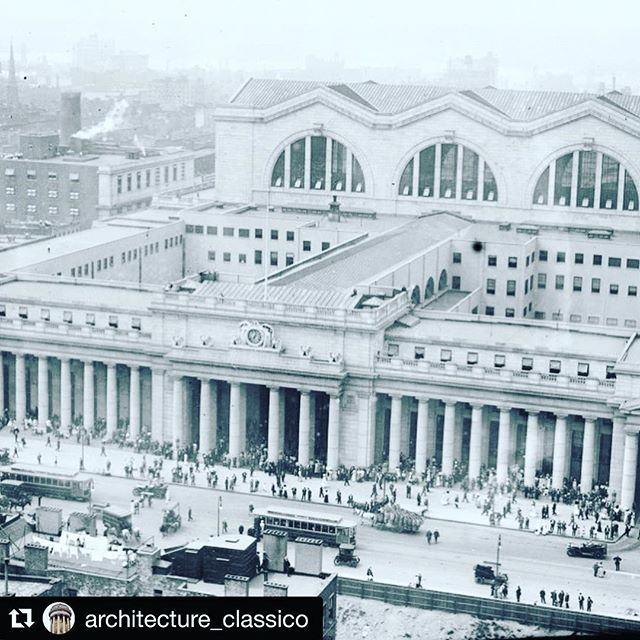 #Repost @architecture_classico (@get_repost) ・・・ This is something that is very important to civic preservation of the United States. These photos (look at all of them) are of the original Pennsylvania Train Station in midtown Manhattan. Most people would not recognize these and would better know it as the famously hideous Madison Square Garden. This monumental structure was demolished in 1963 and is widely considered one of the worst acts of historical destruction in our nation. Fortunately, there is an ongoing effort to have a station rebuilt to a similar styling in classical beaux arts style architecture. Penn Station is set to be renovated so #rebuildpennstation is an effort to return the station to some of its former glory. Please check it out. Beautiful buildings are not easily built but are very easily destroyed. http://www.rebuildpennstation.org/ #nyc #architecture #architecturedaily #architecturephotography #architecture #architecturelover #instadaily #followforfollow #history #usa #tradition #classic #newyork #newyorkcity #newyorkart #artist #art #travelgram #travel #explore #backpack #beauty #beautiful #instagram #picoftheday #photooftheday