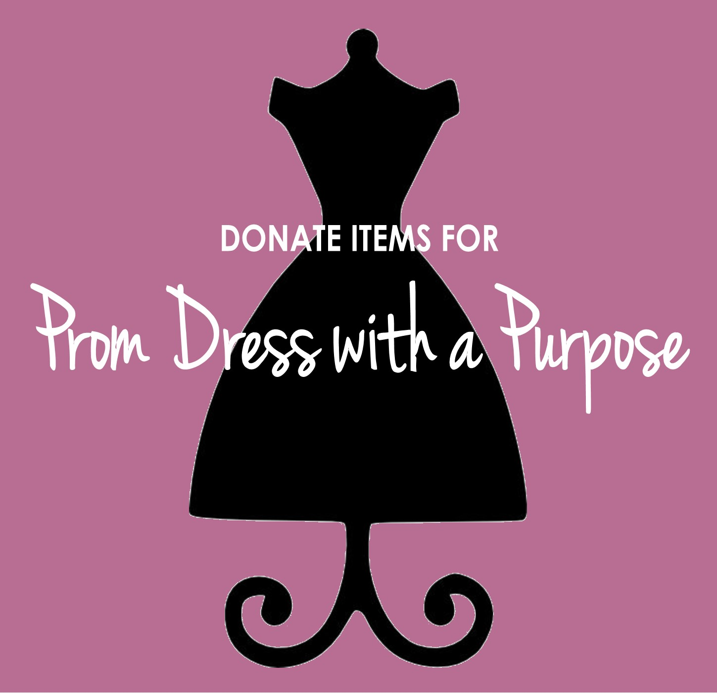 Contact us if you would like to donate new or gently used: - ~ Dresses~ Shoes~ Handbags~ Fashion Jewelry~ Other special occasion items
