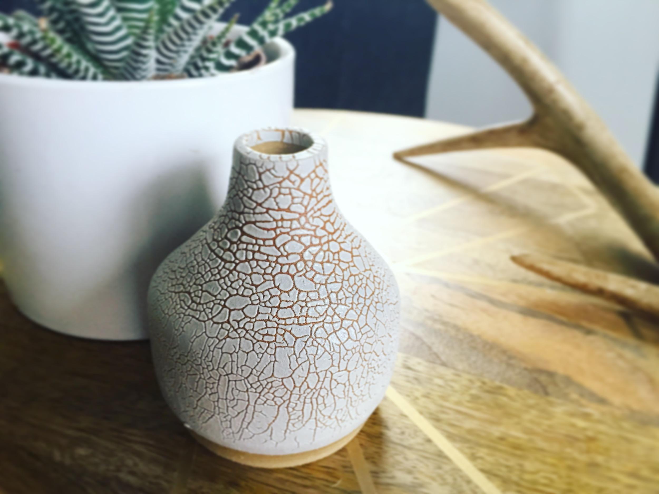 Beautiful pottery I found at a flea market in NOLA
