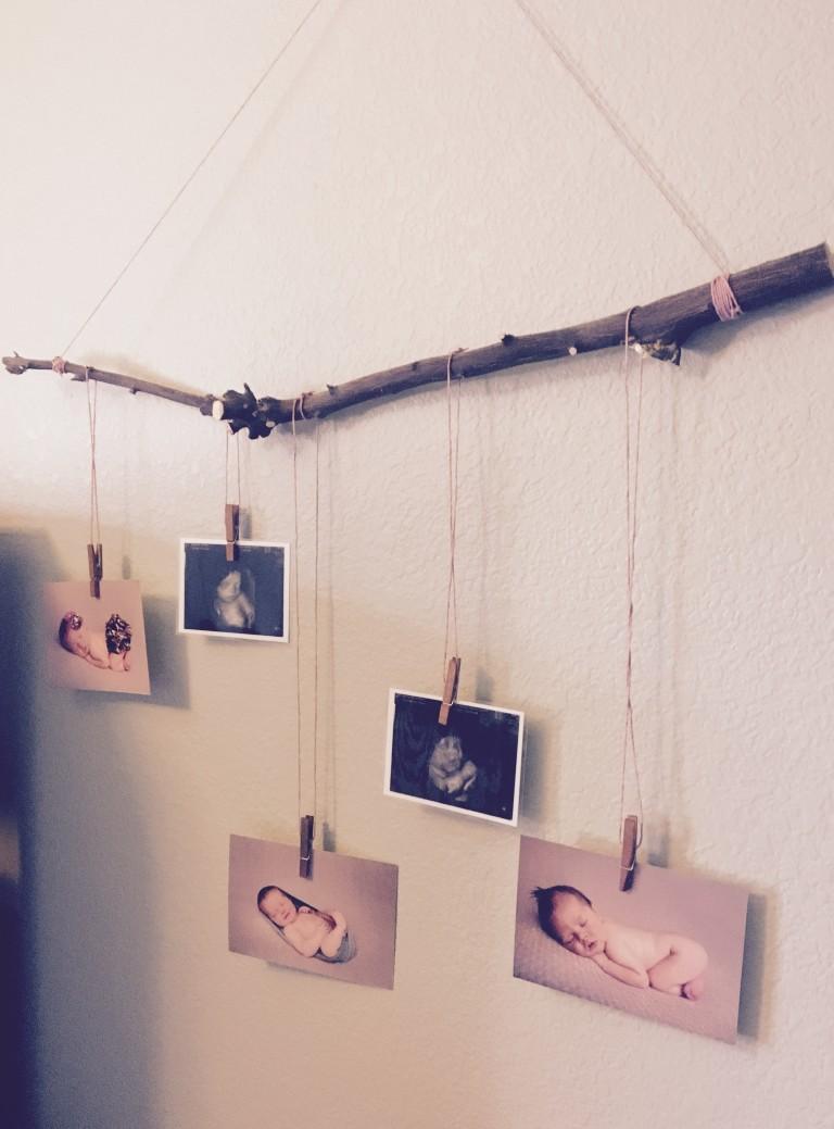 newborn photo display