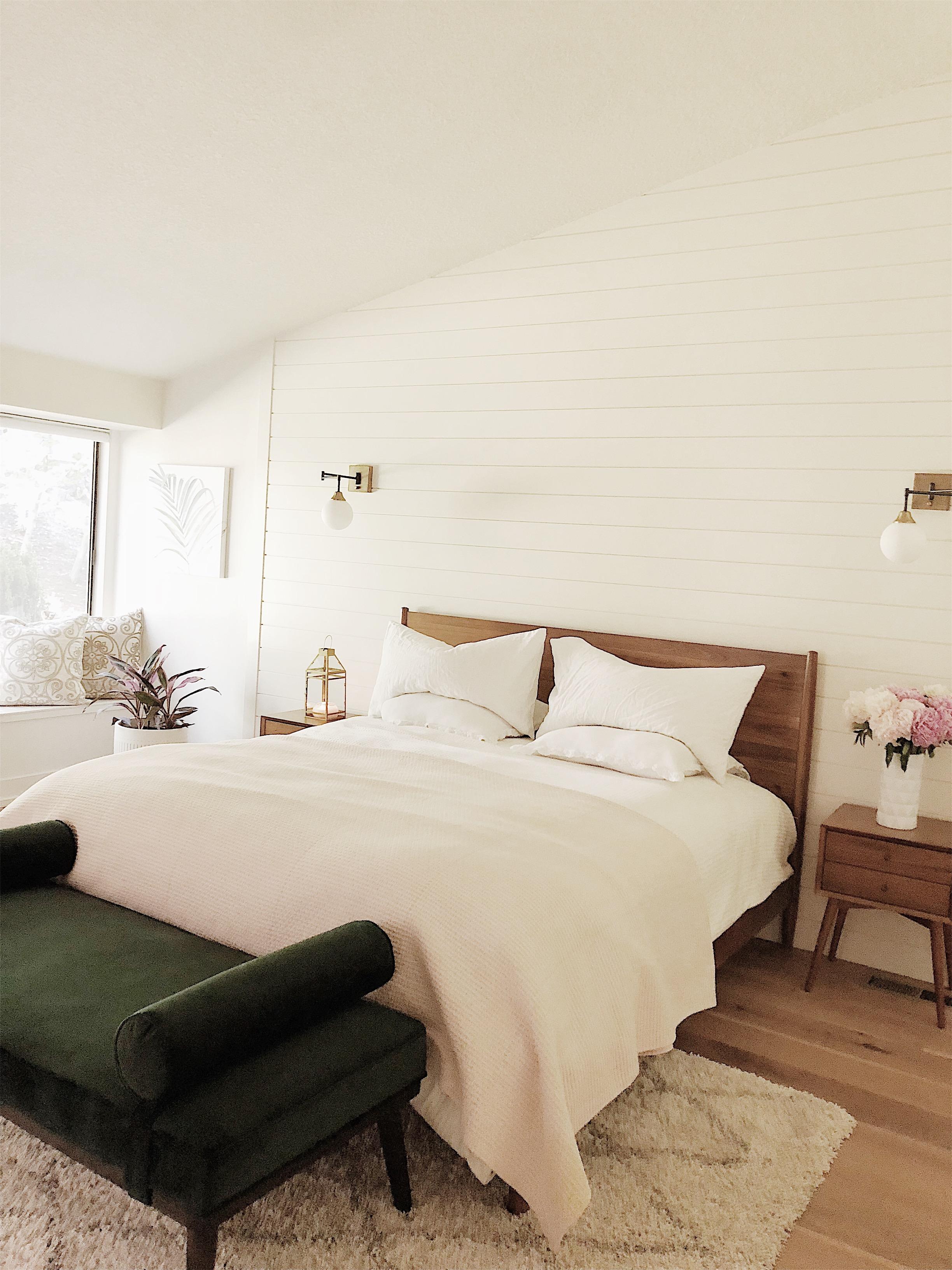 AFTER // Modern master bedroom.