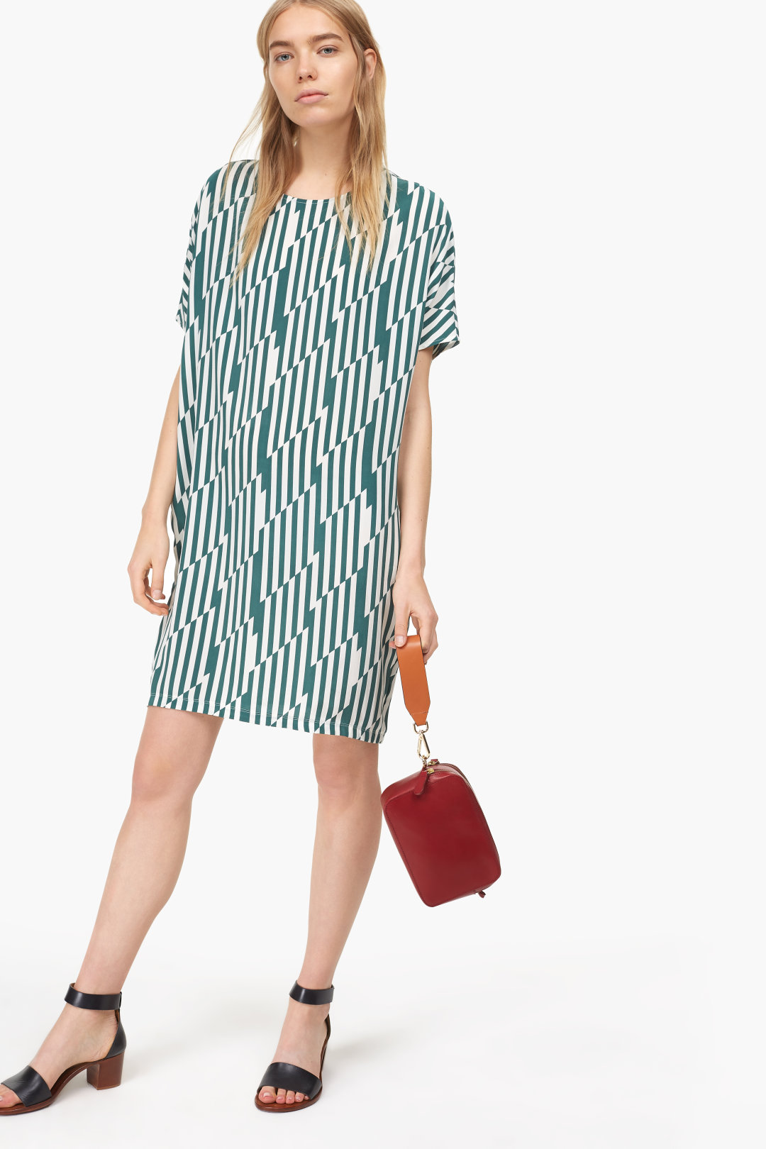 Closed Print Dress