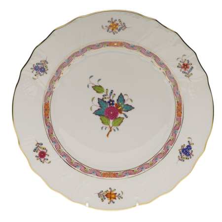 Chinese Bouquet Multicolor Dinner Plate