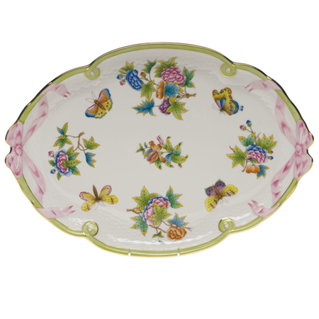 Queen Victoria Ribbon Tray