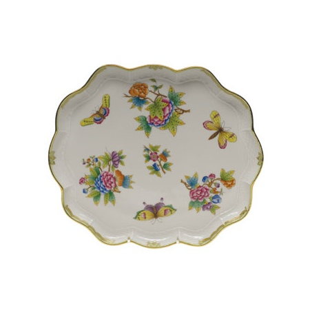 Queen Victoria Scallop Tray