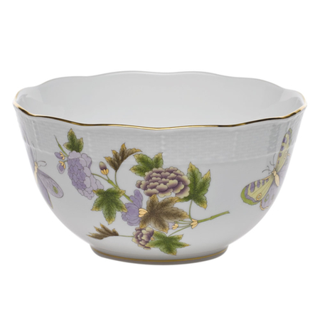 Royal Garden Round Bowl