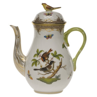 Rothschild Bird Coffee Pot