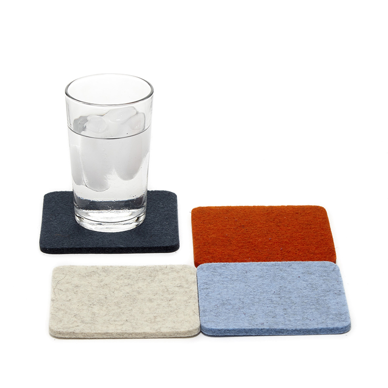 Bierfilzl Square Felt Coaster Dawn