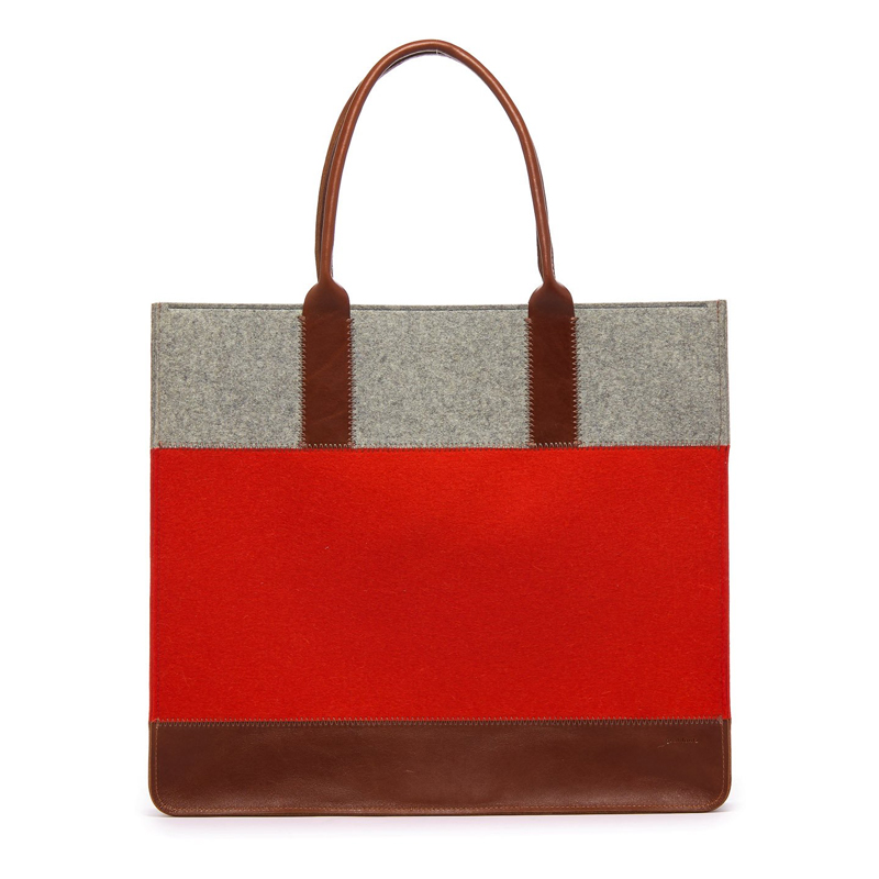 Jaunt Shopper Orange & Granite