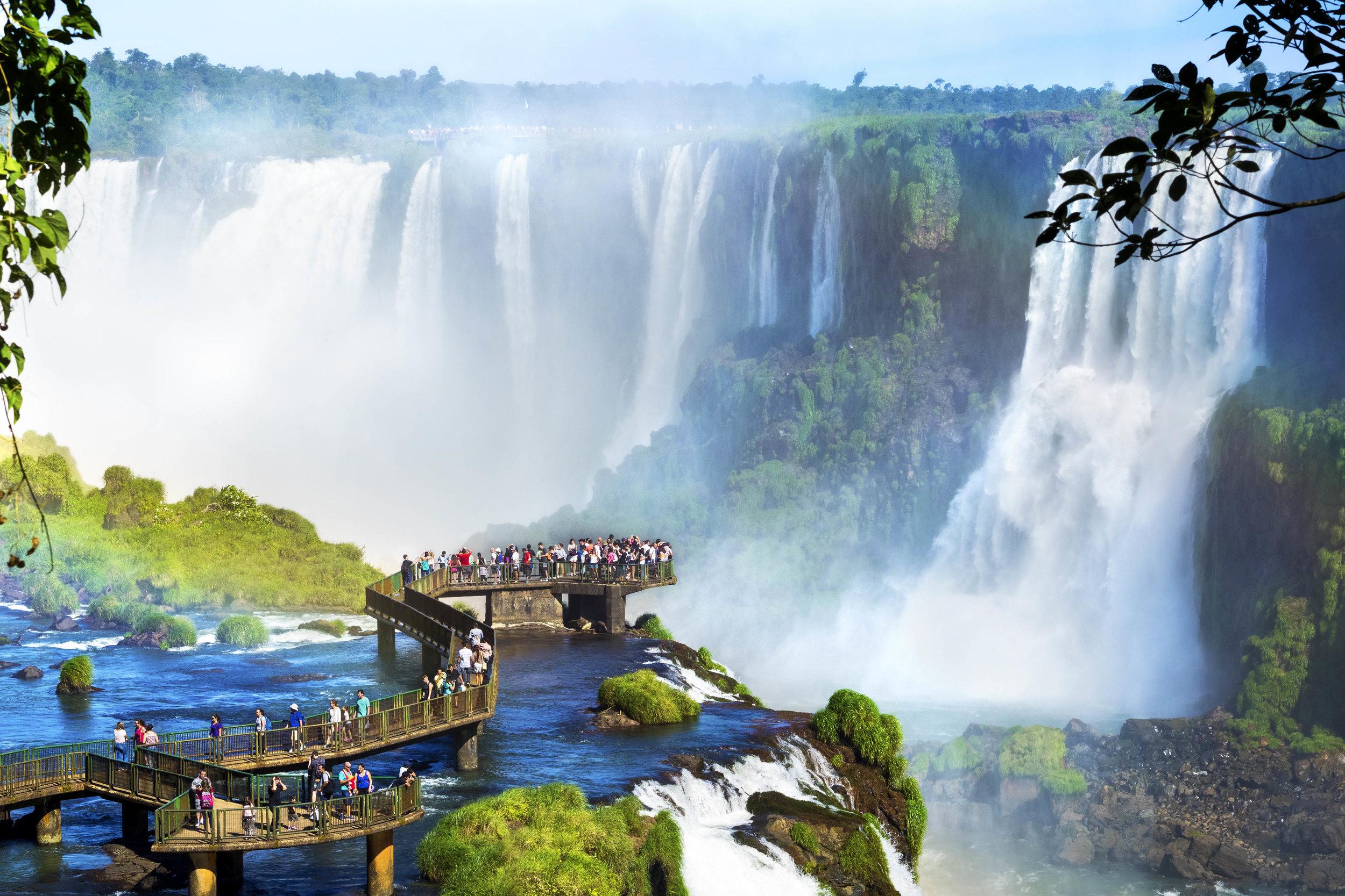 Iguassu Falls, Brazil & Argentina Border