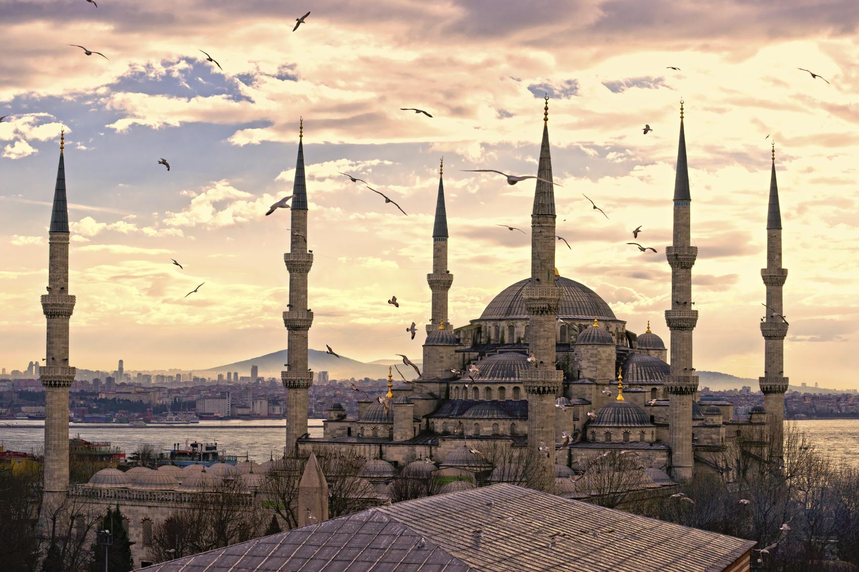 Euro - Turkey, Istanbul, Mosque.jpg