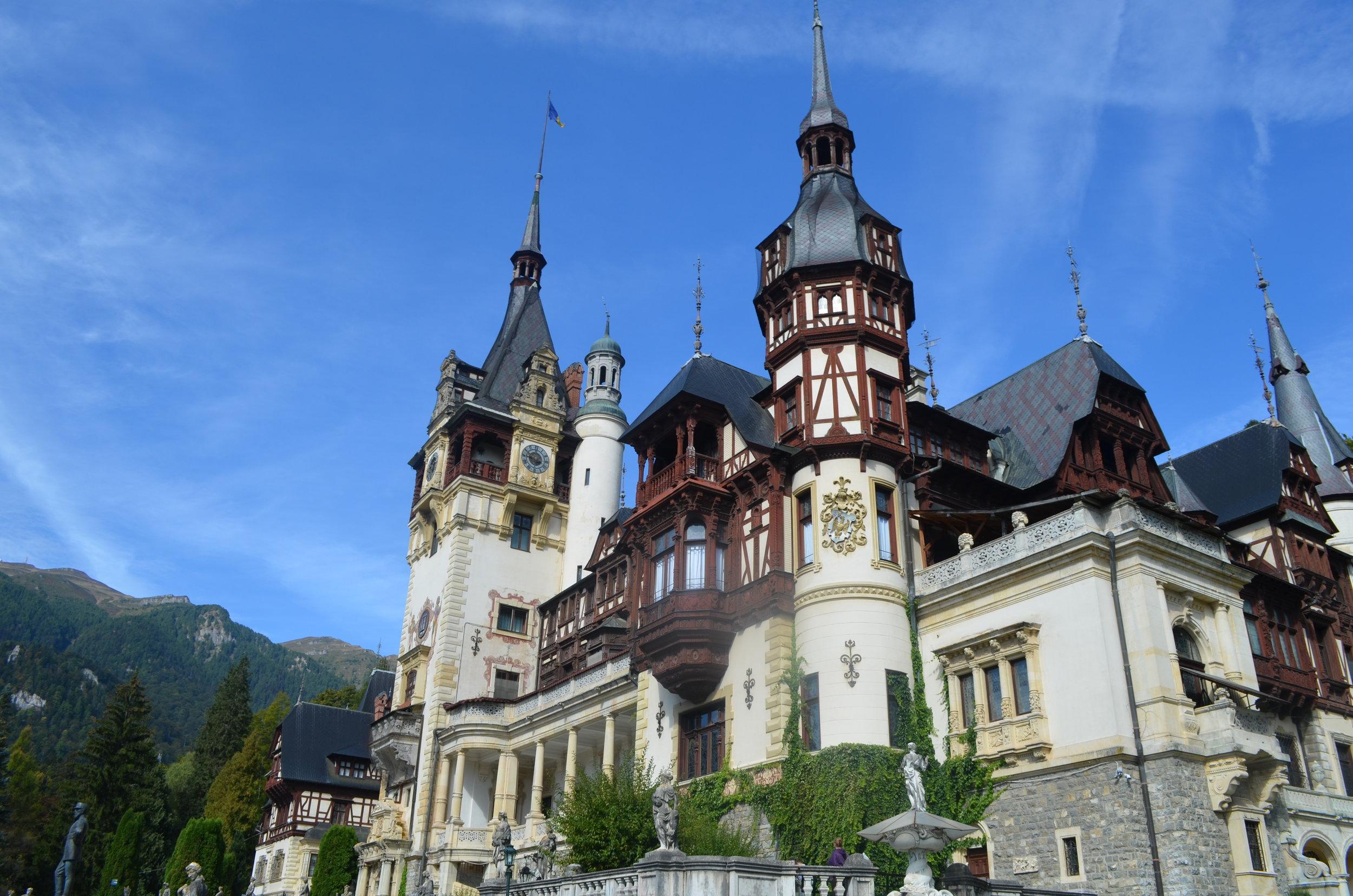 Romania, Brasov, Peles Castle