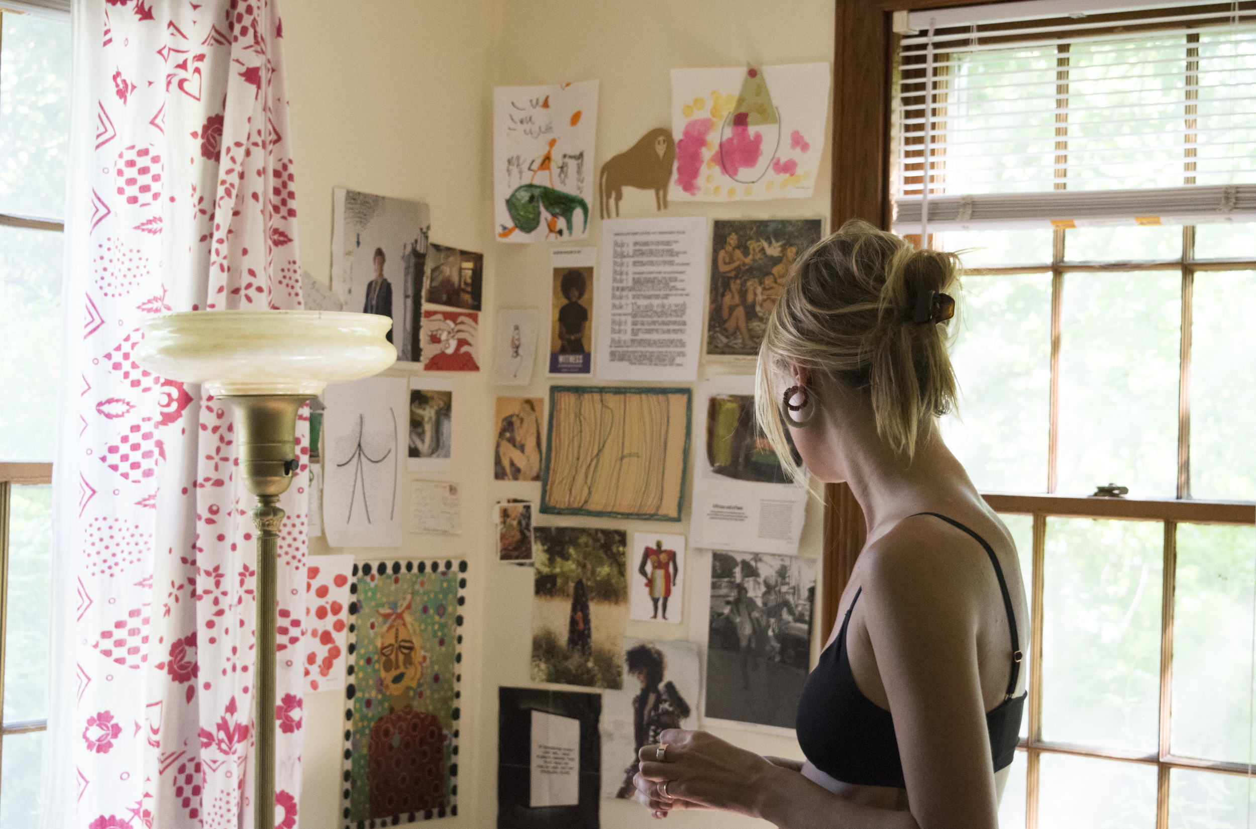 Paige Russell in her Austin studio