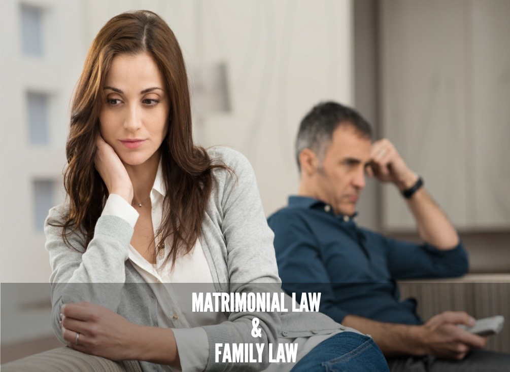 Services for matrimonial and family law