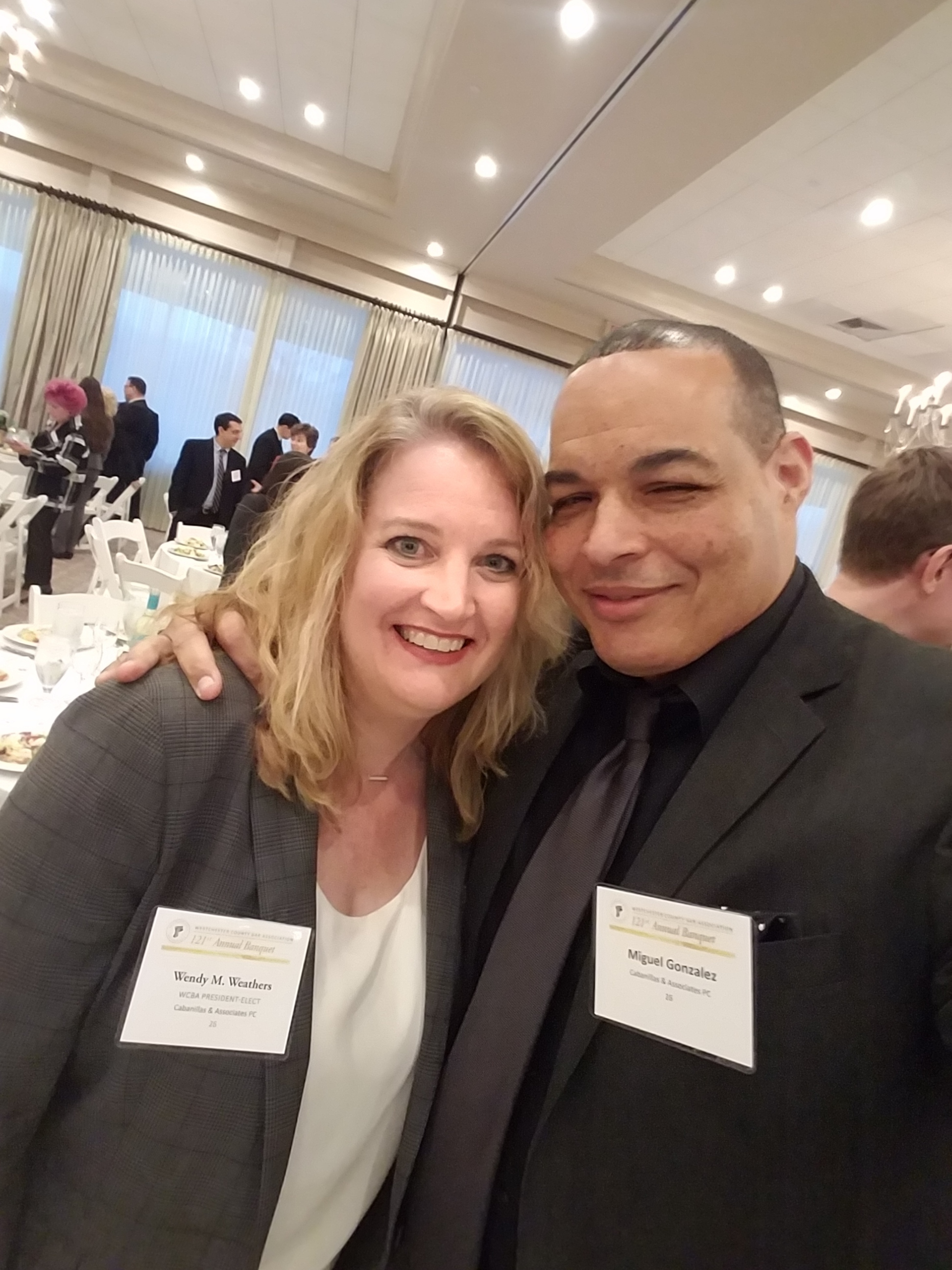 Wendy Weathers (C&A Senior Managing Attorney) & Miguel Gonzalez (C&A Managing Director)