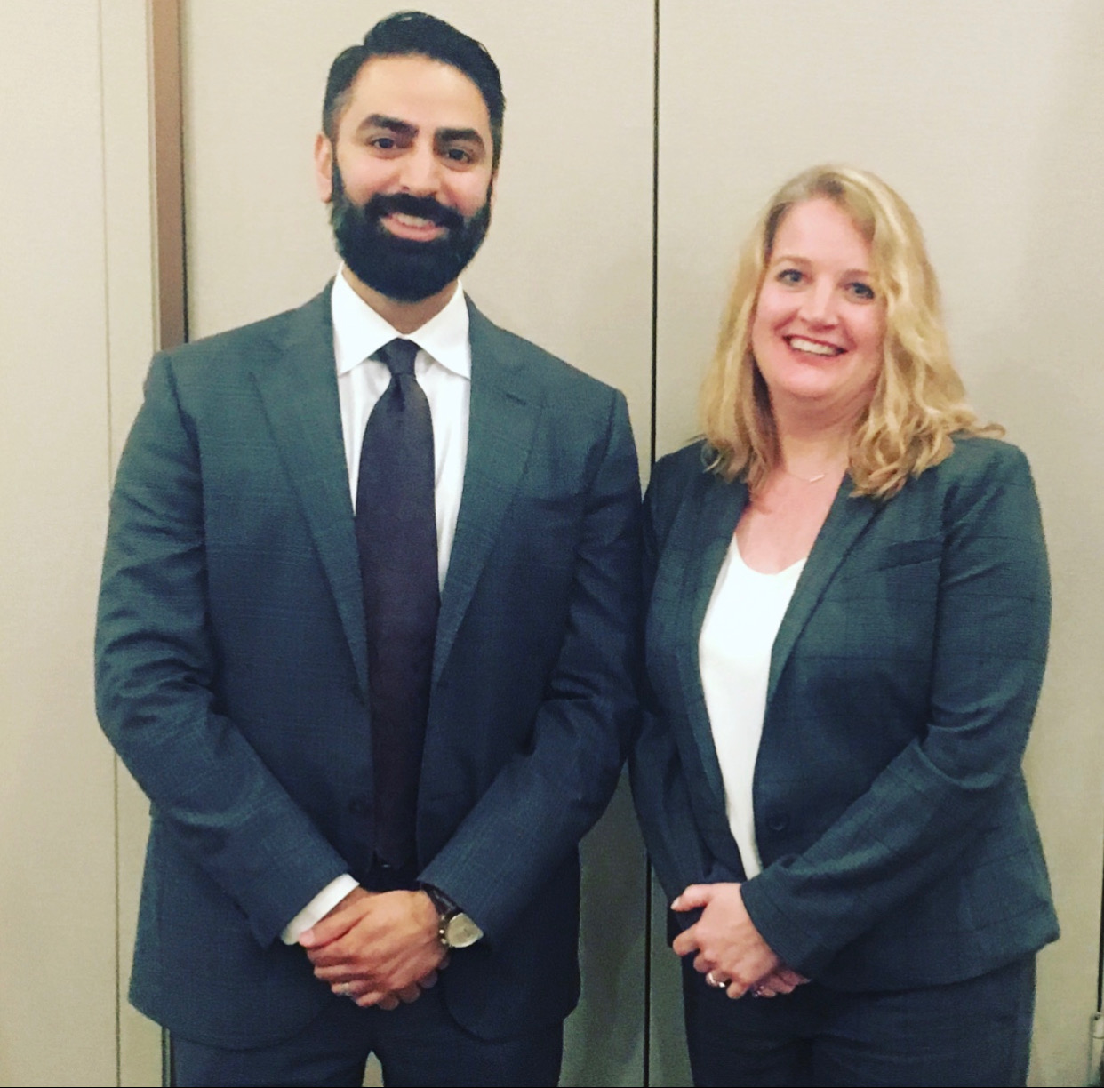 Wendy Weathers (C&A Senior Managing Attorney) & Atheeb Khateeb (C&A Managing Attorney)