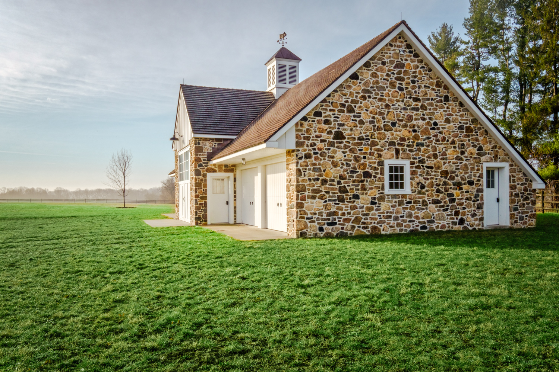 New Custom Home and Barn -