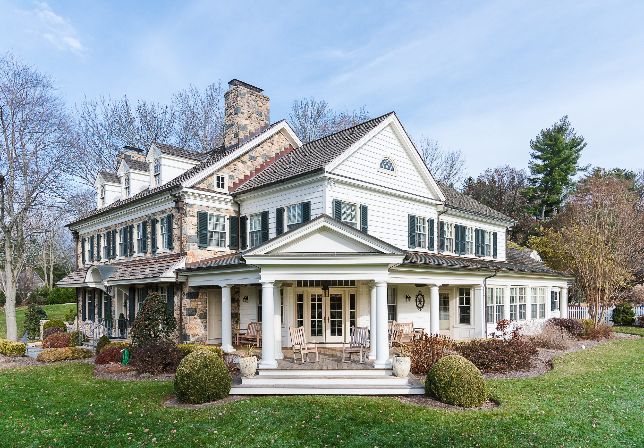"""New Custom Home - """"From building our home to making quality repairs whenever we need them, Cappelletti Builders have always taken care of us like family.""""-- Ed and Janet of Berwyn, PA."""