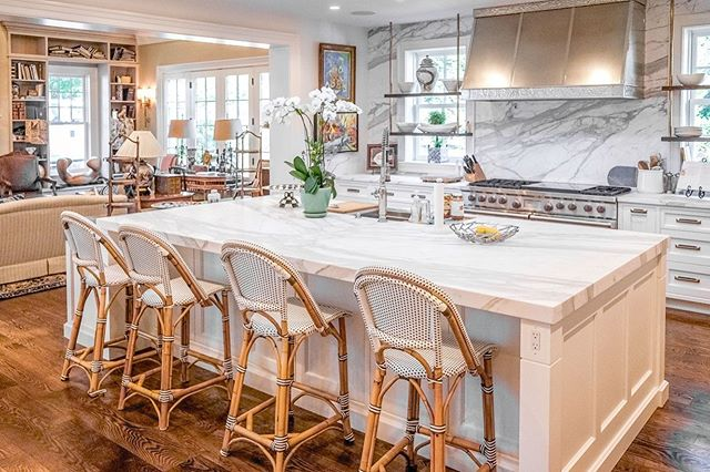 """""""Kitchens should be designed around what's truly important: fun, food, and life."""" Daniel Boulud . We agree, as evident with our most recent work, this beautiful kitchen in Bryn Mawr, in collaboration R.A. HOFFMAN architects and @bluebell_kitchens . #mainlinehomes #mainlinetoday #mainlinelife #mainlinehome #Homedecor, #decor, #house, #homedesign, #philly, #phillyhomes, #homesweethome, #homeconstruction, #instahome, #houserenovation, #homerenovation, #philadelphia #mainlineliving, #mainlinelife, #mainlinehomes, #phillymag, #mainlinehomerenovation #mainlinecustombuilder"""