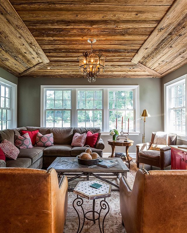Looking to add character to a room? Look up! Interior architect @abbyschwartzassociates designed this brilliant ceiling for a 100-year-old home in Wynnwood, Pa. In managing construction, we sourced the wood—sandblasted cypress—and did the install. A great project and showstopper space. #mainlinehomes #mainlinetoday #mainlinelife #mainlinehome #Homedecor, #decor, #house, #homedesign, #philly, #phillyhomes, #homesweethome, #homeconstruction, #instahome, #houserenovation, #homerenovation, #philadelphia #mainlineliving, #mainlinelife, #mainlinehomes, #phillymag, #mainlinehomerenovation #mainlinecustombuilder