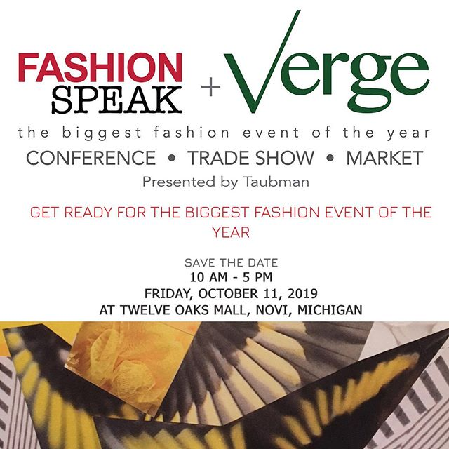 Stop in to the Verge Market at Twelve Oaks Mall on Friday, October 11 and shop new items from Katherine Cross Design! #detroitgarmentgroup #twelveoaksmall #vergetradeshow