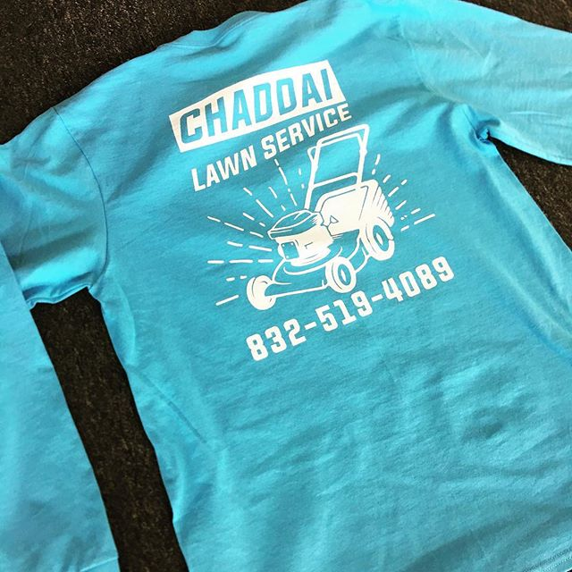 Ask about our specials on t-shirt printing! #screenprinting #leaguecity #tshirt #tshirtprinting