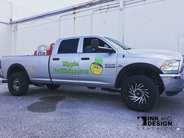 Truck graphics for @hippiefertilizing