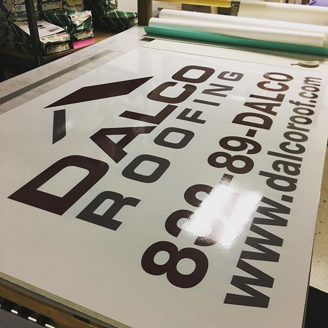 We make signs on aluminum, acrylic, MDO, wood, foamboard, composite, and more. Call us for a quote! #signs #leaguecity #printshop #webster #graphics