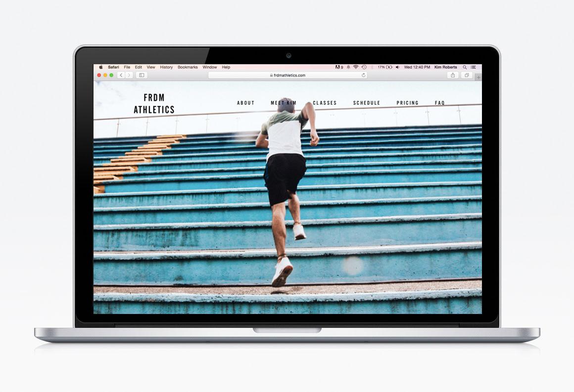 FRDM Athletics / WEB DESIGN