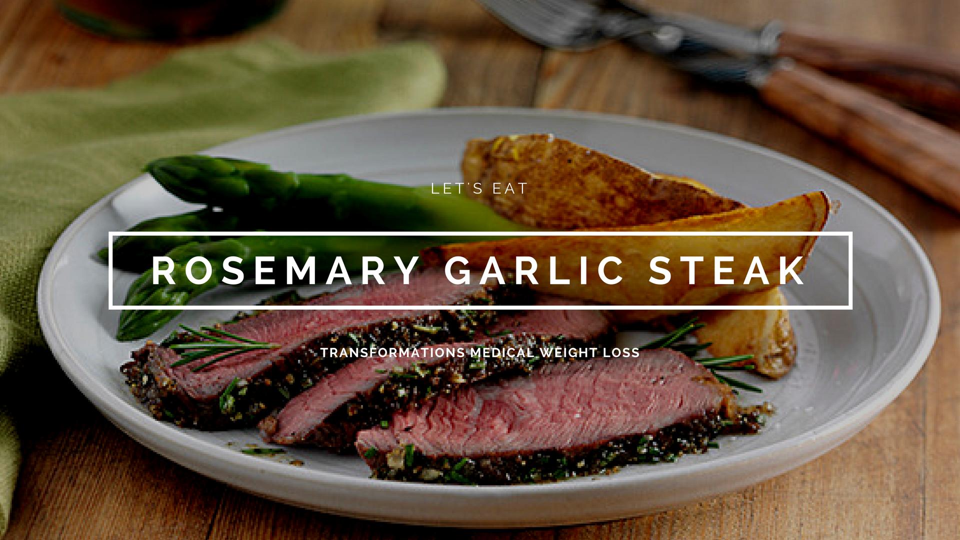 Rosemary Garlic Steak