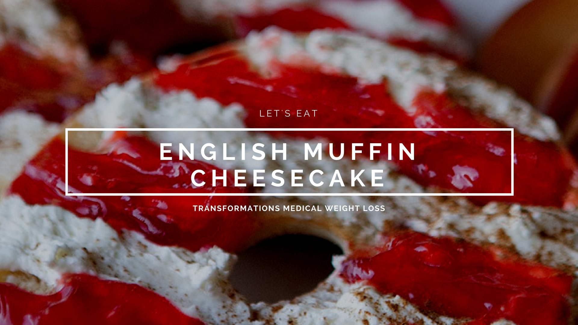 English Muffin Cheesecake
