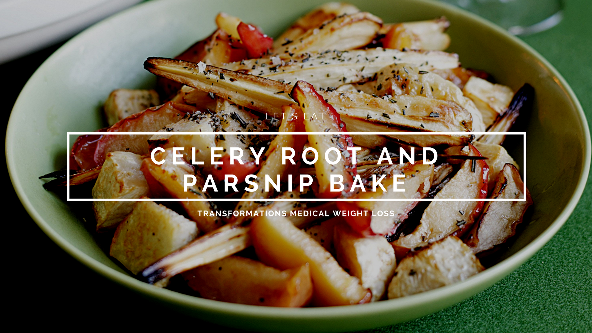 Celery Root and Parsnip Bake