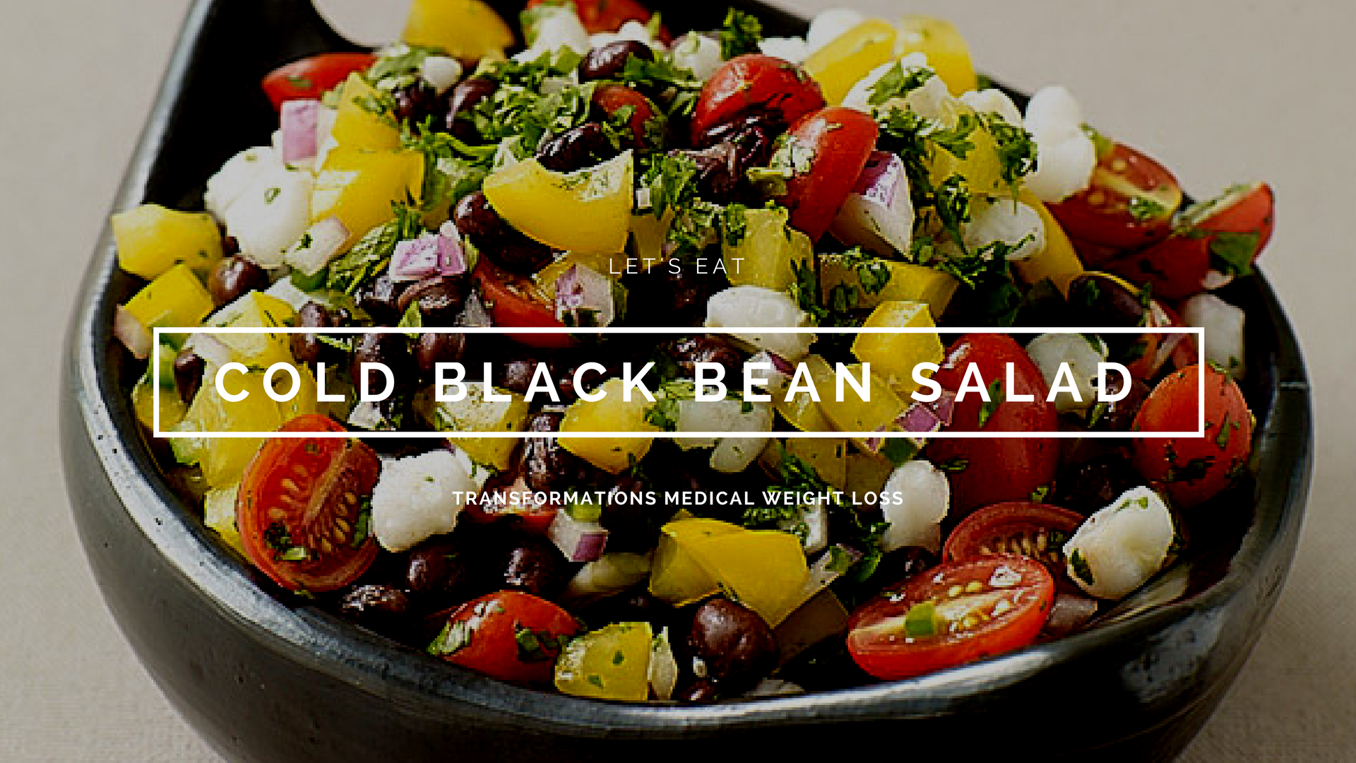 Cold Black Bean Salad
