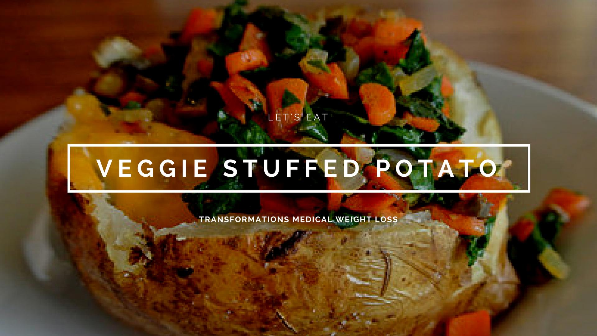 Veggie Stuffed Potato