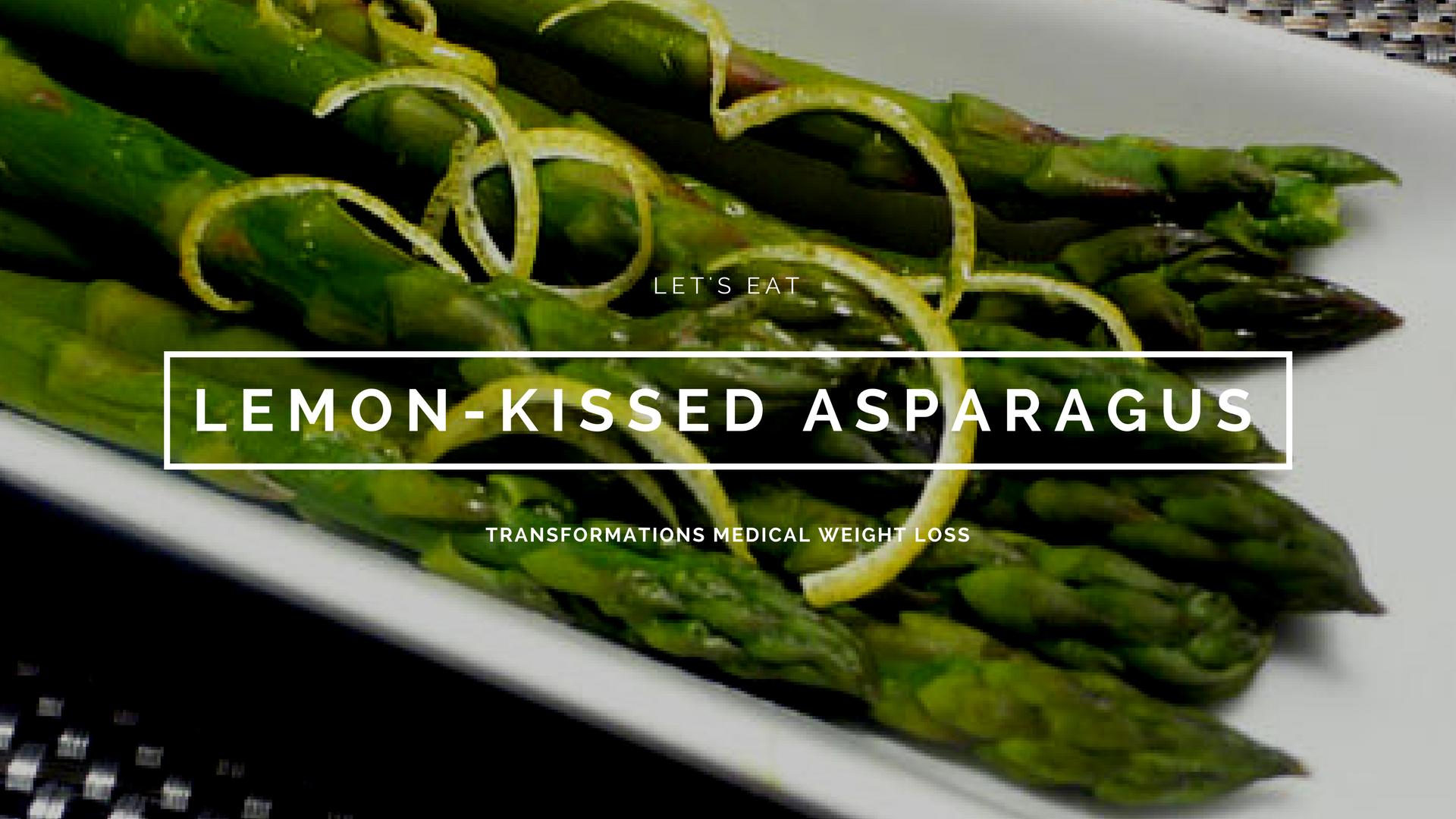 Lemon-Kissed Asparagus