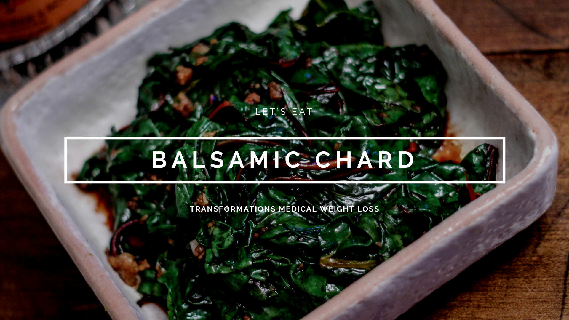 Balsamic Chard