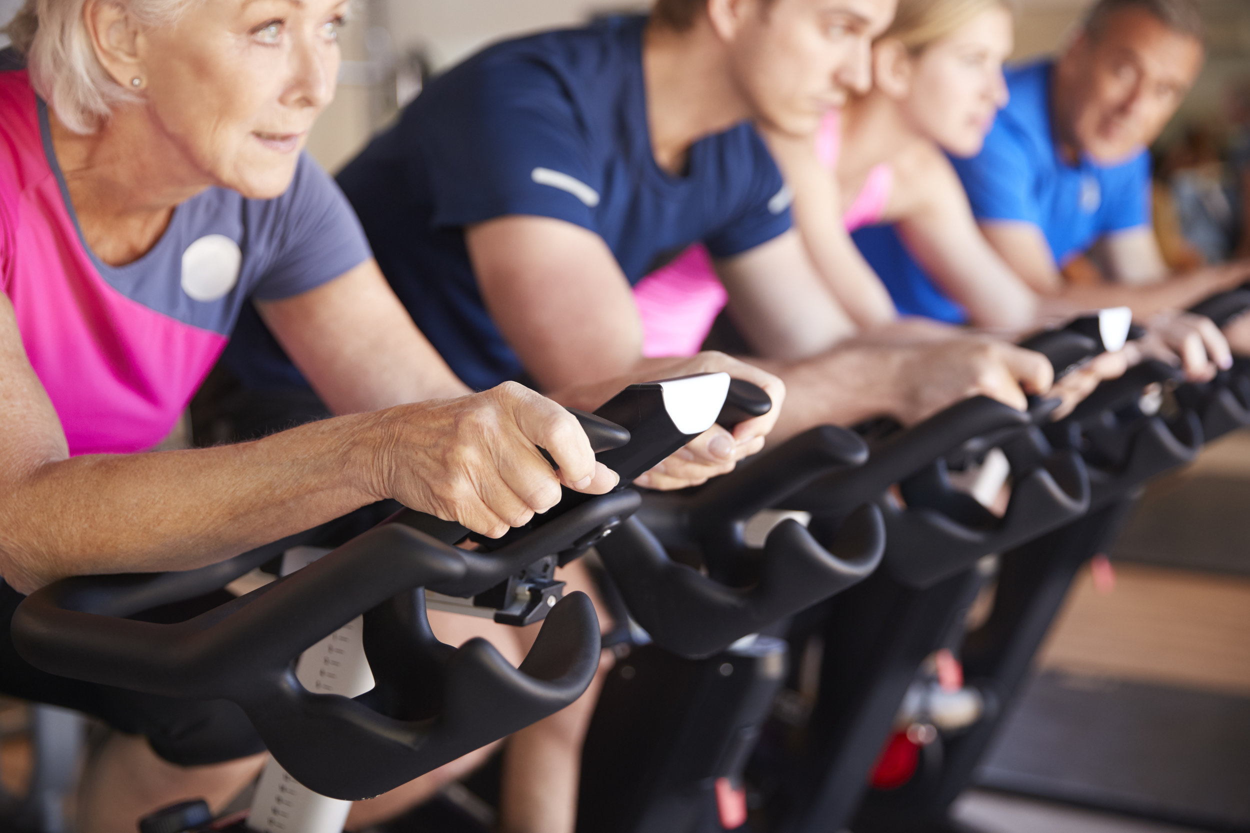 Even a vigorous cycling class, which can burn more than 700 calories, can be completely canceled out with just a few mixed drinks or a piece of cake. -