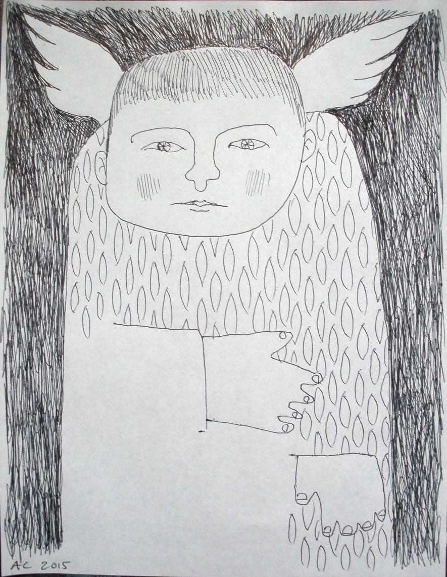 Grumpy angel